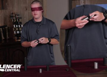 Blindfolded Take-down of BANISH 30 suppressor