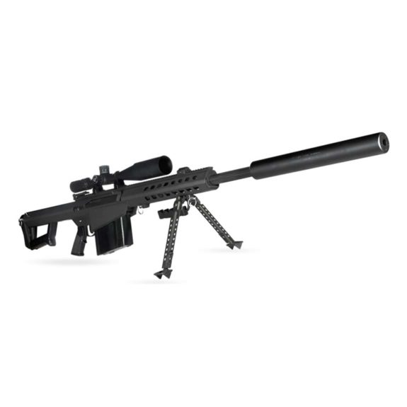 50 BMG AWC (semi-auto design) - Stainless Steel