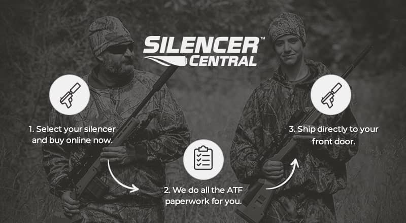 We make buying a silencer as easy as 1-2-3!