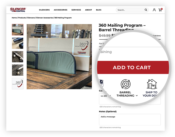 Here's how to buy with 360 Mailing Program