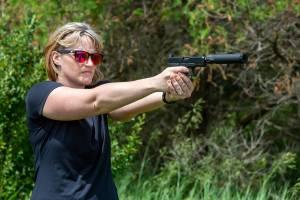 BANISH 45 handgun silencer