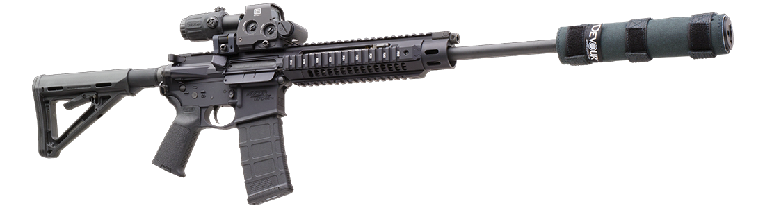 Integrally Suppressed Silencers