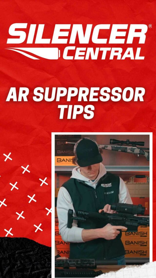 AR SUPPRESSOR TIPS. Running a suppressor on your AR is a lot of fun. We've got some accessory tips that might be helpful for you to obtain optimum performance. These include silent captured buffer springs, adjustable gas blocks, and more.